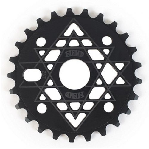 Fiend Palmere Sprocket - Black 25 Tooth